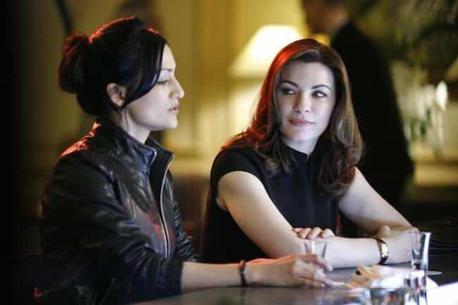 Julianna Margulies And A... is listed (or ranked) 8 on the list TV Best Friends Who Hated Each Other In Real Life
