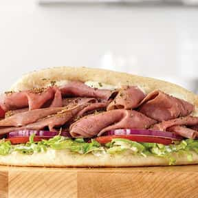 Roast Beef Gyro is listed (or ranked) 21 on the list The Best Things To Eat At Arby's, Ranked