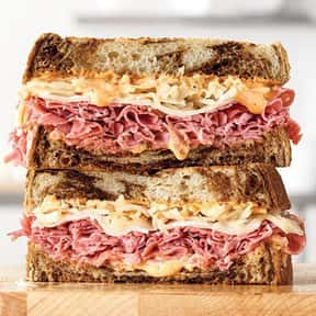 Reuben  is listed (or ranked) 8 on the list The Best Things To Eat At Arby's, Ranked
