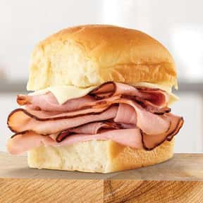 King's Hawaiian Ham Slider  is listed (or ranked) 20 on the list The Best Things To Eat At Arby's, Ranked