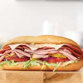 Loaded Italian  is listed (or ranked) 14 on the list The Best Things To Eat At Arby's, Ranked