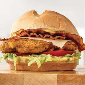 Buttermilk Chicken Bacon and S is listed (or ranked) 11 on the list The Best Things To Eat At Arby's, Ranked