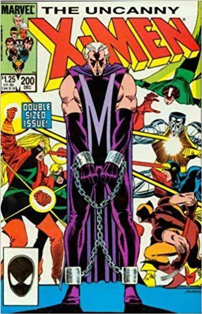 The Trial of Magneto is listed (or ranked) 1 on the list The Best Storylines That Feature Magneto