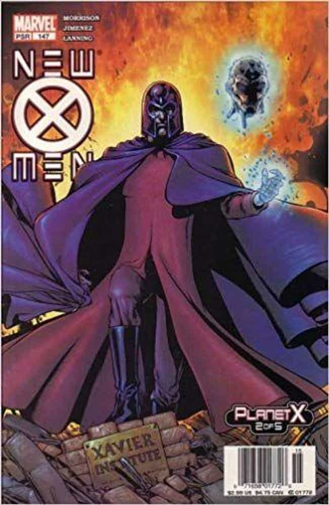 Planet X is listed (or ranked) 2 on the list The Best Storylines That Feature Magneto