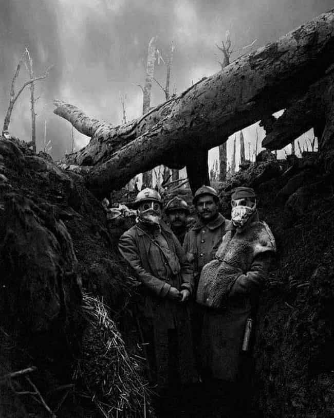 French Soldiers At Verdu... is listed (or ranked) 1 on the list 15 Photos From The Trenches Of WWI That Show What They Were Really Like