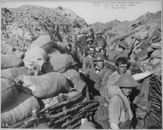 50 Yards Away From Germa... is listed (or ranked) 4 on the list 15 Photos From The Trenches Of WWI That Show What They Were Really Like