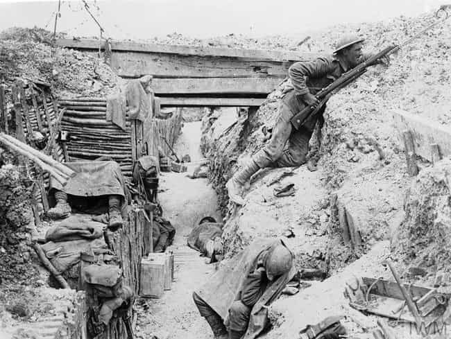 A British Infantryman On... is listed (or ranked) 3 on the list 15 Photos From The Trenches Of WWI That Show What They Were Really Like