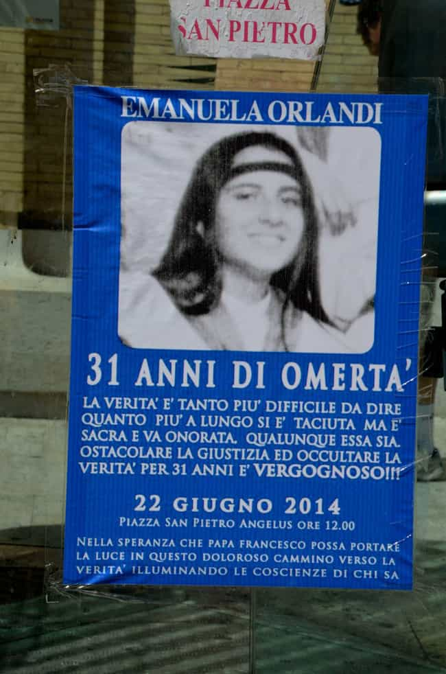 15-Year-Old Emanuela Orlandi V... is listed (or ranked) 1 on the list The Strange And Chilling Disappearance Of Emanuela Orlandi