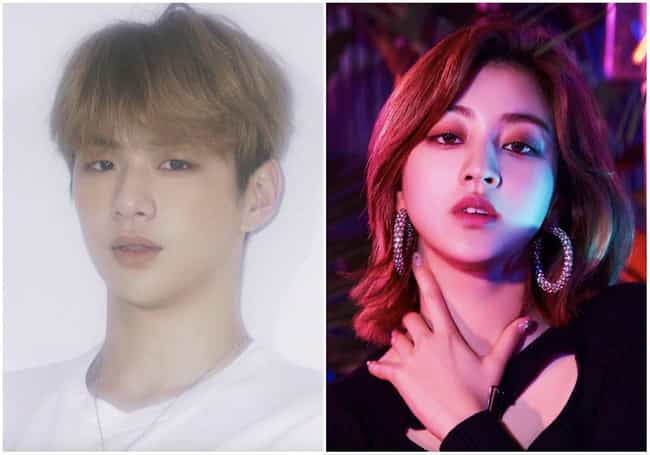 Kang Daniel & Jihyo ... is listed (or ranked) 2 on the list K-pop Idols Who Are Dating In 2020