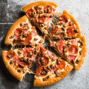 Meat Lover's Pizza  is listed (or ranked) 4 on the list The Best Things To Eat At Pizza Hut