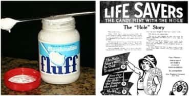 1910s: Oreos, Hostess Cupcakes, Marshmallow Fluff, Peppermint Life Savers