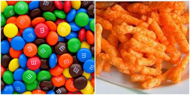 1940s: M&M's, Mike and Ikes, D... is listed (or ranked) 5 on the list What Was The Junk Food Of Choice For Kids Every Decade Of The 20th Century?