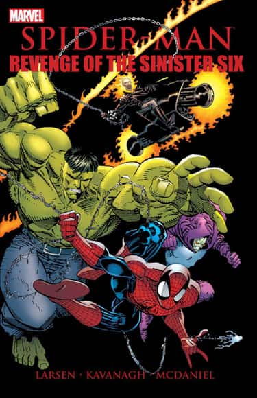 Revenge Of The Sinister Six is listed (or ranked) 1 on the list The Best Sinister Six Storylines in Comics