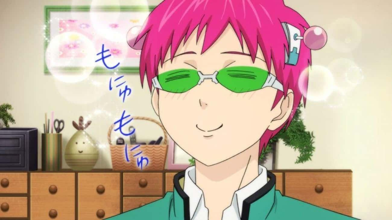 Kusuo Saiki - 'The Disastrous  is listed (or ranked) 2 on the list The 20 Best Leo Anime Characters Born July 23 – August 22
