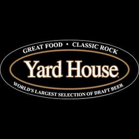 Yard House is listed (or ranked) 20 on the list The Best Bar & Grill Restaurant Chains