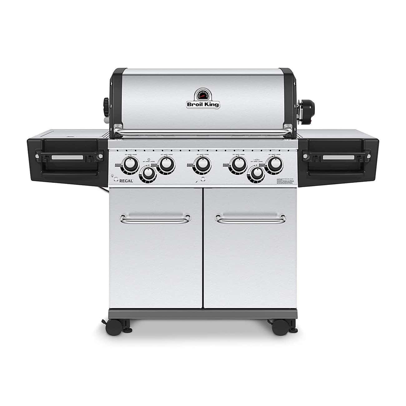 Broil King Regal Pro Gas Grill is listed (or ranked) 1 on the list These Gas Grills Prove Propane Is Way Better Than Charcoal