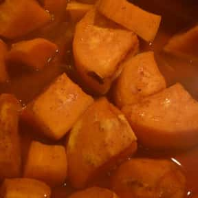 Sweet Potatoes is listed (or ranked) 18 on the list The Most Delectable Side Dishes For Pork Chops, Ranked