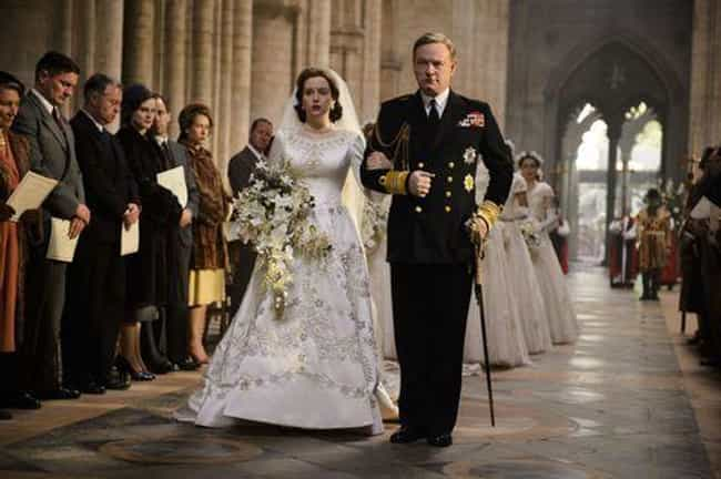 It Took Nearly Eight Weeks To ... is listed (or ranked) 4 on the list Wardrobe Secrets From Behind The Scenes Of 'The Crown'