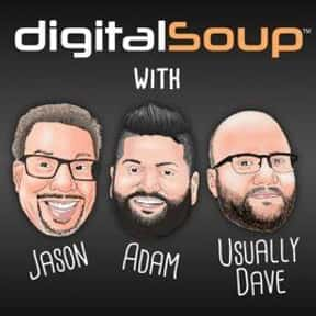 digitalSoup Podcast is listed (or ranked) 15 on the list The Best Podcasts for Nerds