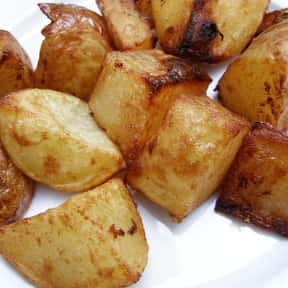 Roasted Potatoes is listed (or ranked) 19 on the list The Most Delightful Side Dishes For Barbeque, Ranked