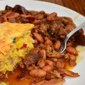 Pork and Beans is listed (or ranked) 18 on the list The Most Delightful Side Dishes For Barbeque, Ranked