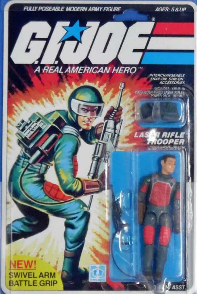 Flash (1982) is listed (or ranked) 4 on the list The Most Valuable G.I. Joe Action Figures Of All Time