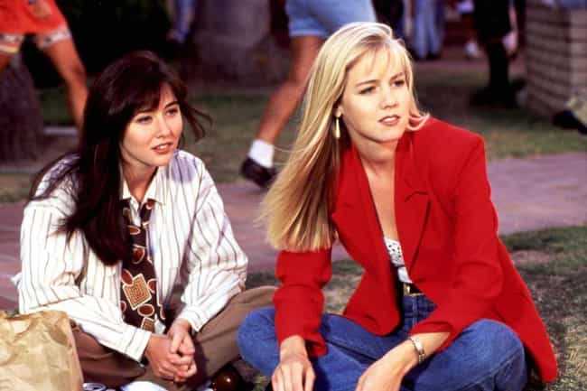 Security Had To Stop Jennie Ga... is listed (or ranked) 4 on the list Behind-The-Scenes Drama That Fueled 'Beverly Hills, 90210' In The '90s