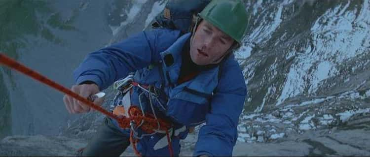 He Did His Own Stunts In The Climbing Film 'The Eiger Sanction'