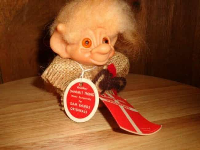Dam Tailed Troll With Original... is listed (or ranked) 2 on the list The Most Valuable Troll Dolls Of All Time