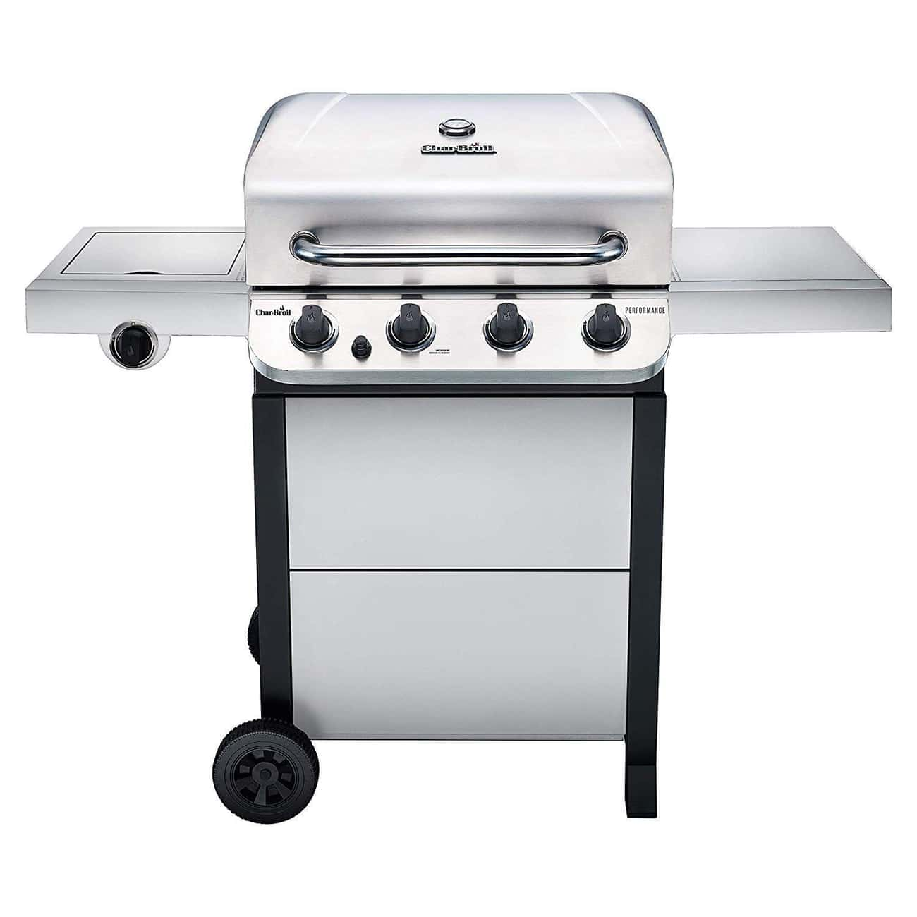 Char-Broil 463377319 Performan is listed (or ranked) 3 on the list These Gas Grills Prove Propane Is Way Better Than Charcoal