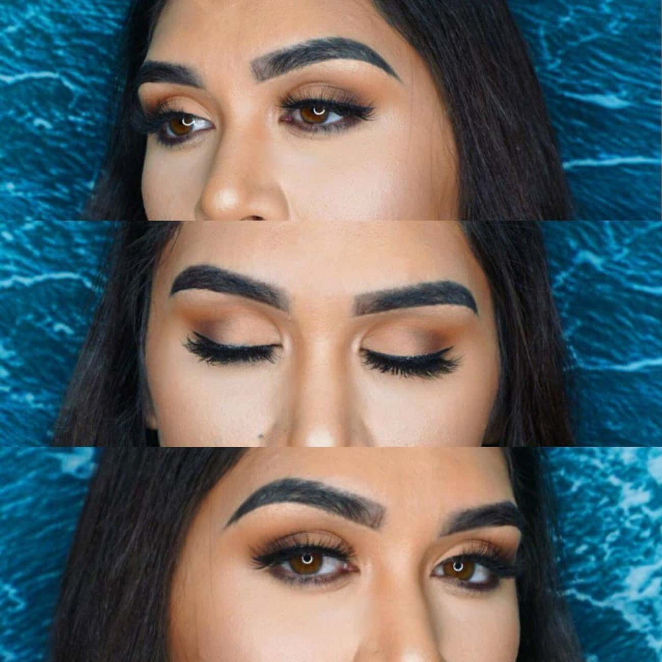 Brown is listed (or ranked) 1 on the list The 10 Best Eyeshadow Colors for Hazel Eyes