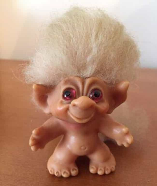 Dam Tailed Troll With Pink Eye... is listed (or ranked) 4 on the list The Most Valuable Troll Dolls Of All Time