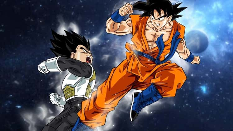 Goku And Vegeta Have A Final Battle In Dragon Ball Online