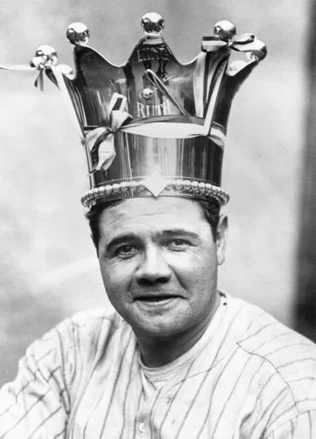 Every Sultan Needs A Crown is listed (or ranked) 2 on the list Photos That Will Make You See Babe Ruth In A New Light