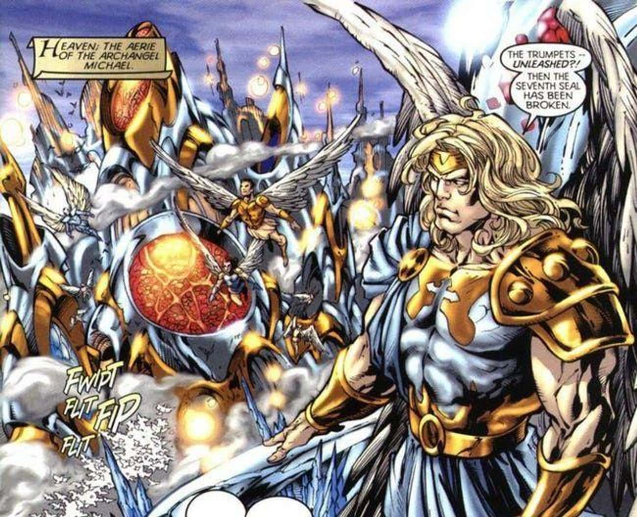 Archangel Michael is listed (or ranked) 3 on the list The Most Powerful Characters In DC Comics