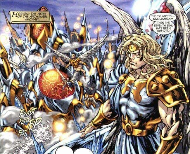 Archangel Michael is listed (or ranked) 2 on the list The Most Powerful Characters In DC Comics
