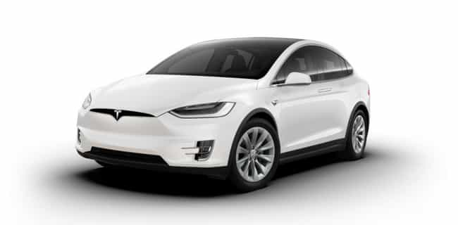 Model X is listed (or ranked) 4 on the list All Tesla Models, Ranked