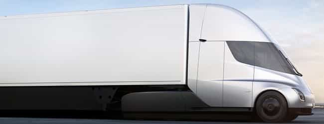 Semi is listed (or ranked) 3 on the list All Tesla Models, Ranked