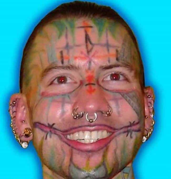 Ever Wondered What a Bad Acid ... is listed (or ranked) 2 on the list The Most Regrettable Face Tattoos Ever