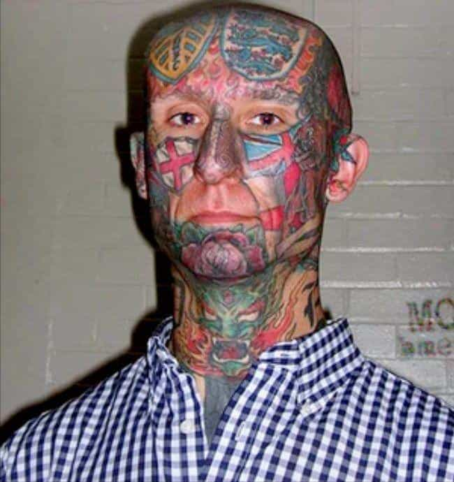 London's Calling... They Sound... is listed (or ranked) 3 on the list The Most Regrettable Face Tattoos Ever