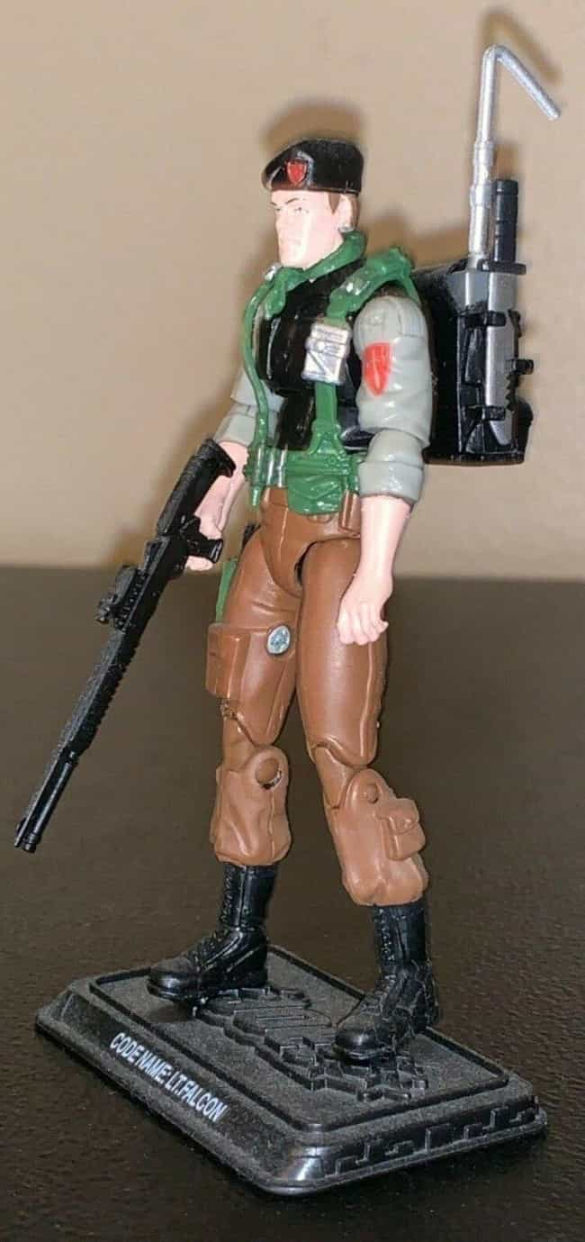 Night Force Falcon (Prototype) is listed (or ranked) 2 on the list The Most Valuable G.I. Joe Action Figures Of All Time