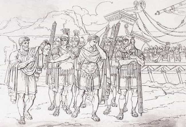 The Roman Army is listed (or ranked) 1 on the list Which Historical Armed Forces Would Win In A Battle?