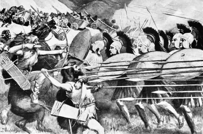Alexander The Great's Macedoni... is listed (or ranked) 3 on the list Which Historical Armed Forces Would Win In A Battle?