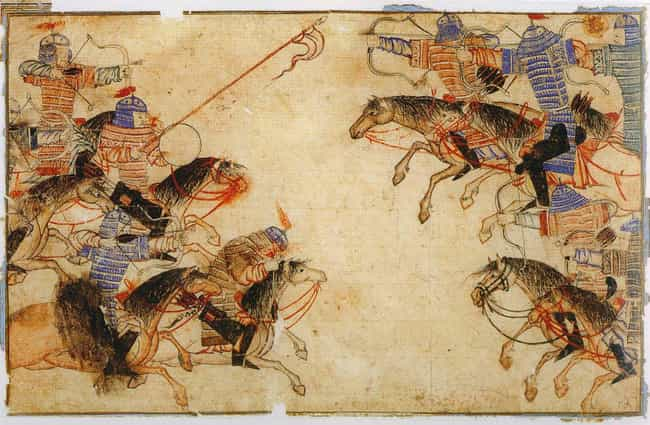 The Mongol Army Of Genghis Kha... is listed (or ranked) 2 on the list Which Historical Armed Forces Would Win In A Battle?