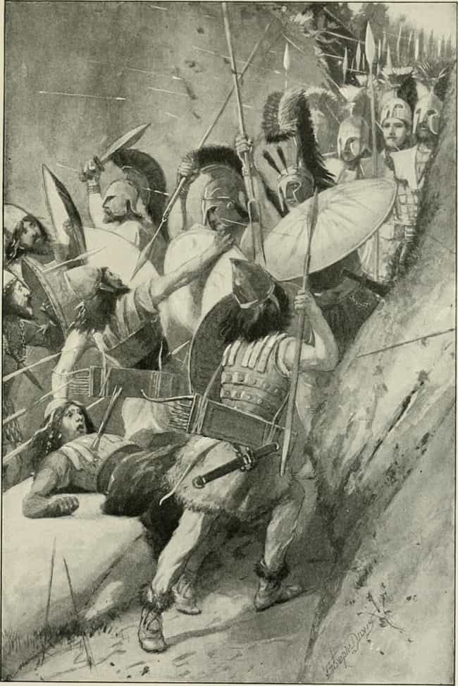 The Spartan Army is listed (or ranked) 4 on the list Which Historical Armed Forces Would Win In A Battle?