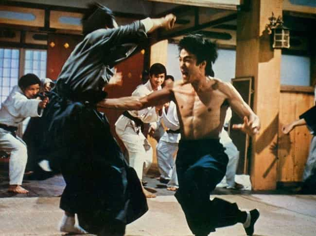 His Legendary 'One-Inch Punch'... is listed (or ranked) 1 on the list Bruce Lee Stories That Show How Man Became Legend