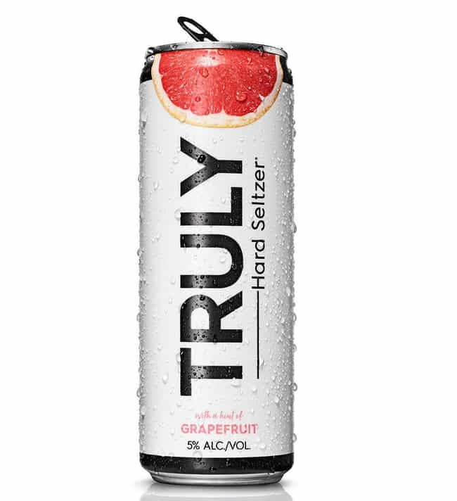 Grapefruit is listed (or ranked) 3 on the list The Best Truly Hard Seltzer Flavors