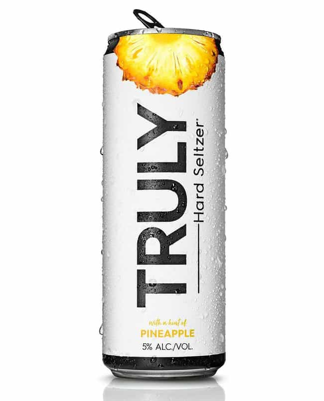 Pineapple is listed (or ranked) 4 on the list The Best Truly Hard Seltzer Flavors