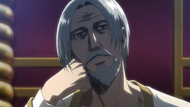 King Fritz - Attack on Titan is listed (or ranked) 3 on the list 13 Anime Characters Who Are Secretly Really Weak