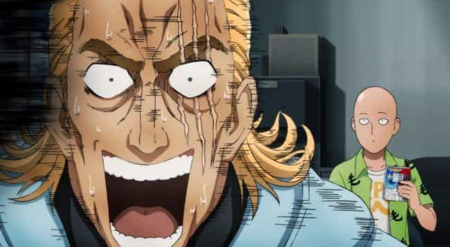 King - One Punch Man is listed (or ranked) 1 on the list 13 Anime Characters Who Are Secretly Really Weak